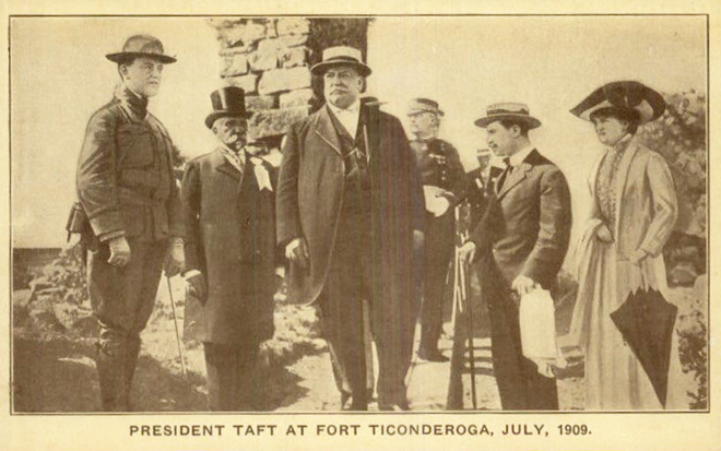 Taft at Fort Ti